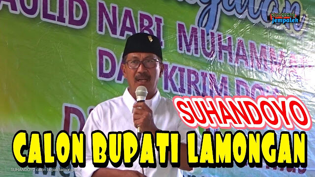 Dikabarkan akan Lakukan Pencoretan BLT, Calon Bupati Lamongan Suhandoyo Tepis Issue tersebut