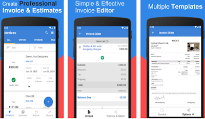 InvoiceTemple: Invoice app, Accounting, Receipts
