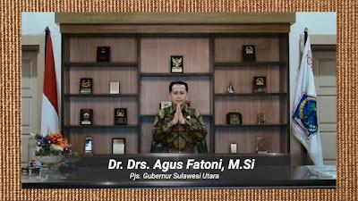 Pjs Gubernur Ucapkan Selamat Dies Natalis ke-59 UNSRAT dan Ingatkan 4M