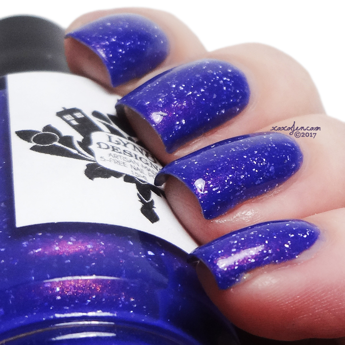 xoxoJen's swatch of LynB Designs The Violet of Shy-Town