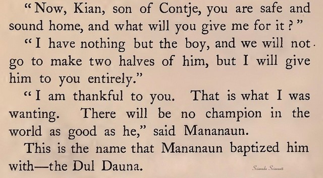 Mananaun in West Irish Folk-Tales di William Larminie - 1893