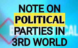Functions And Ideologies Political Parties In 3rd World Countries