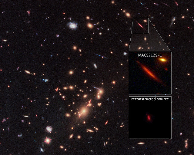 Unusual galaxy in distant universe studied