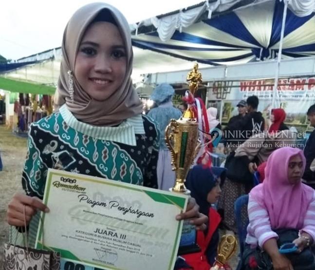Siswi MTs Negeri 1 Kebumen Raih Dua Gelar di Ajang Putra-putri Ramadhan