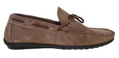 Cotton Bar Vizon Süet Loafer Ayakkabı