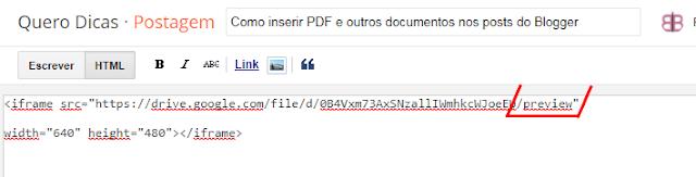 Como Colocar Pdf No Blog Para