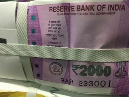 First Look of 2000 Note