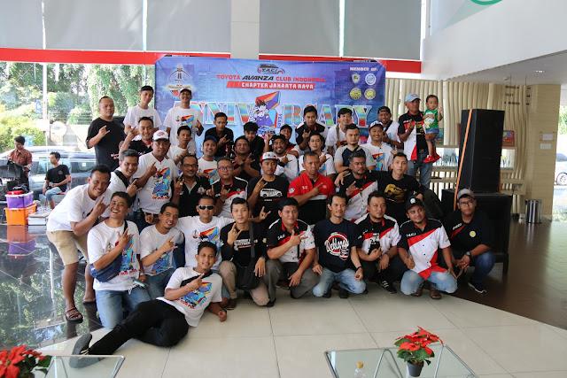 Tiga Tahun Toyota Avanza Club Indonesia Chapter Jakarta Raya