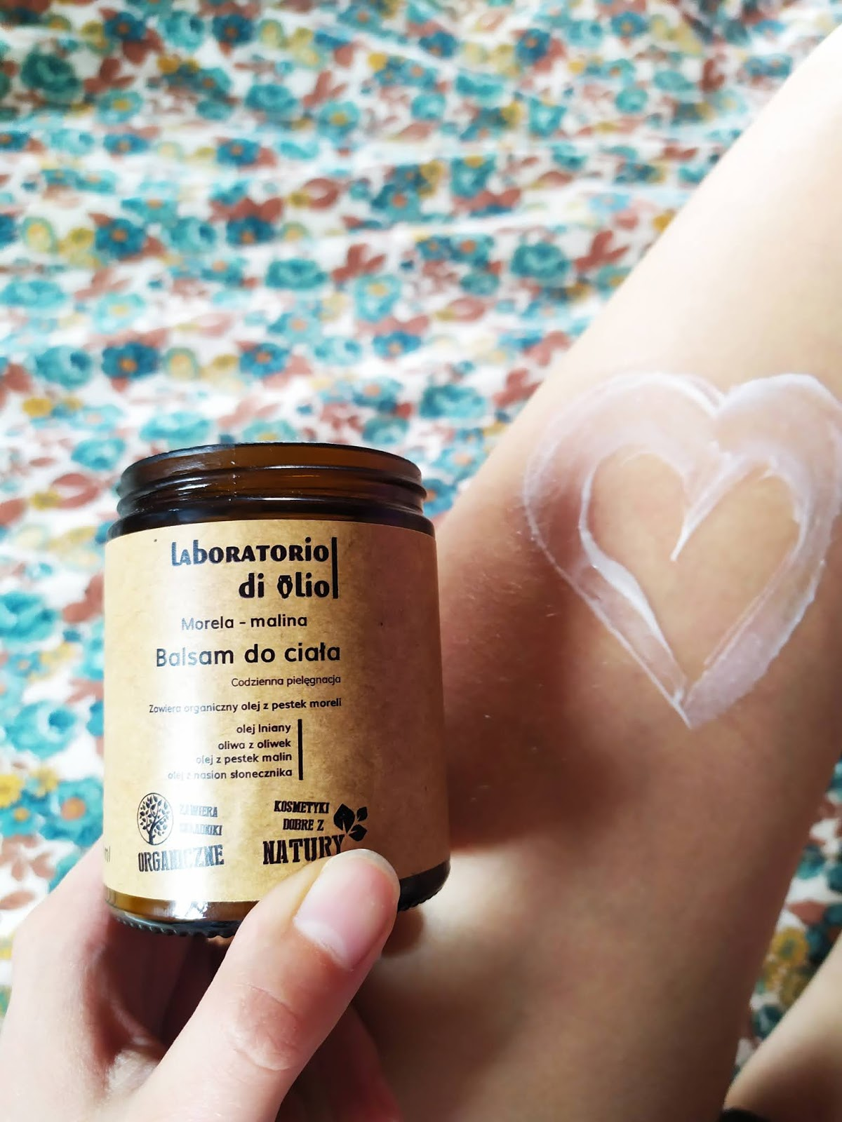 Recenzja - Laboratorio di olio Balsam do ciała morela malina