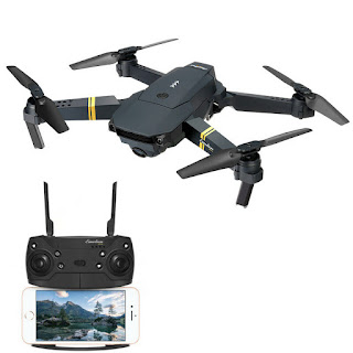 Drone Eachine E58 New Sisa Stok Wifi FPV Camera 480p Altitude Hold