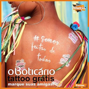 O Boticário - Tattoo Carnaval Consciente Chame Suas Amigas!