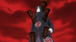 Orochimaru terkena genjutsu Magen : Kasegui No Jutsu