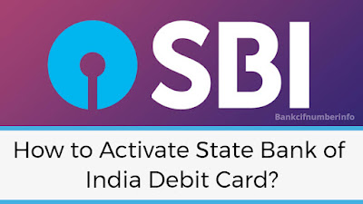 Activate State Bank of India Debit Card