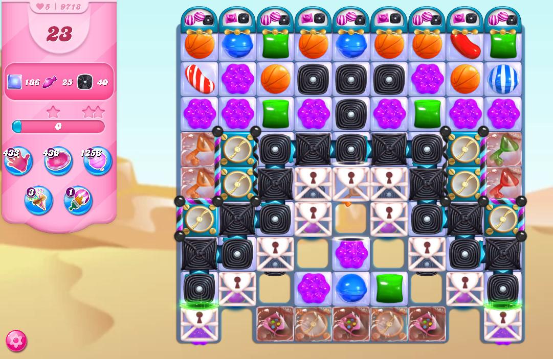 Candy Crush Saga level 9718