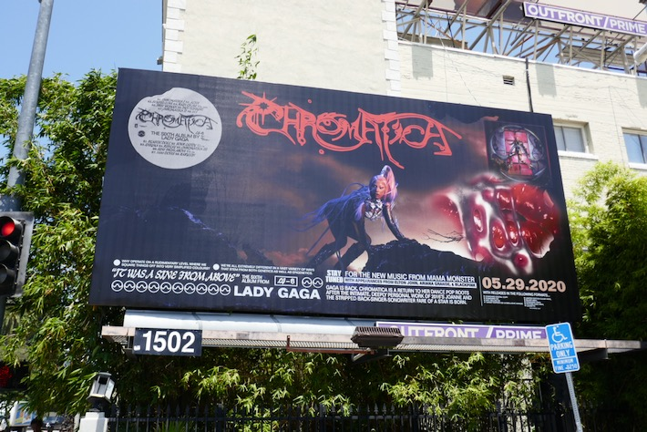 Lady Gaga Chromatica album billboard