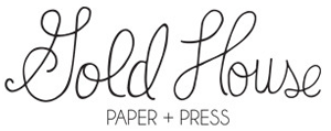 Sweet Lavender Bake Shoppe: a giveaway // gold house paper