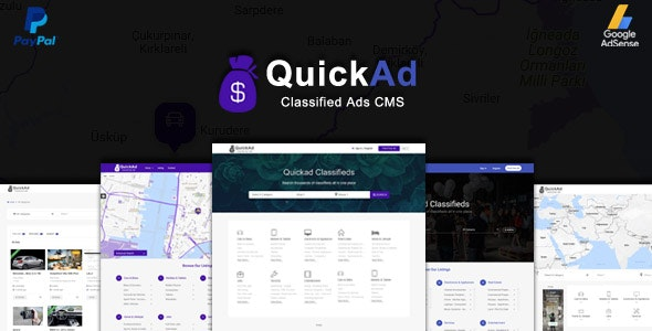 Download Quickad Classified v8.6 - Classified Ads CMS PHP Script - nulled