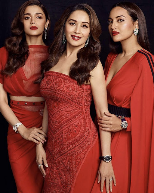 Three generations of Bollywood divas wear Roger Dubuis