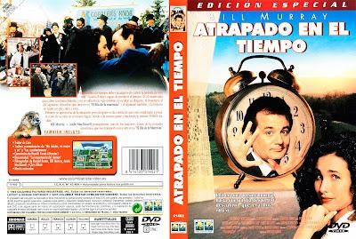 Carátula dvd: Atrapado en el tiempo 1993
