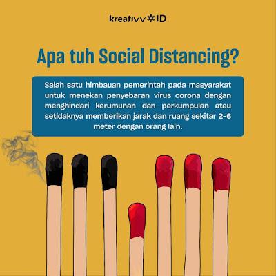 Apa tuh Social Distancing
