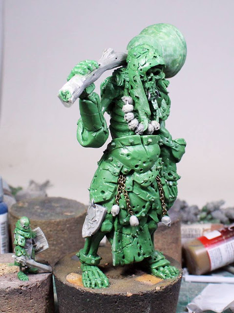 Wargame News and Terrain: MOM Miniatures: Undead Skeleton