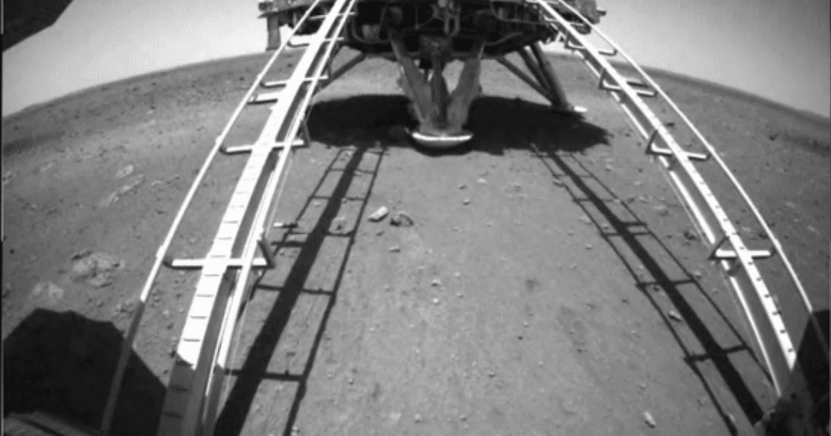 Tianwen-1, atterrato sul suolo di Marte il lander cinese con il rover Zhurong, video by CNSA!