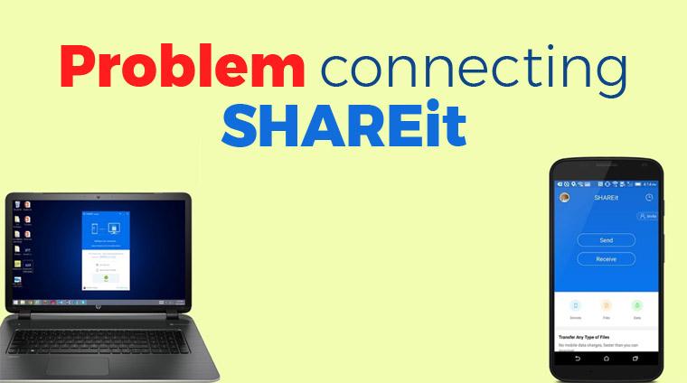 Mengatasi Gagal Menghubungkan SHAREit