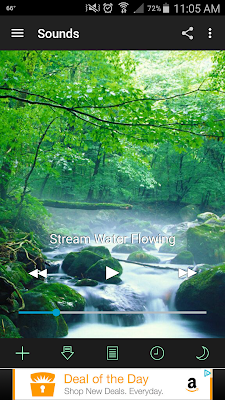 White Noise App Flowing Stream