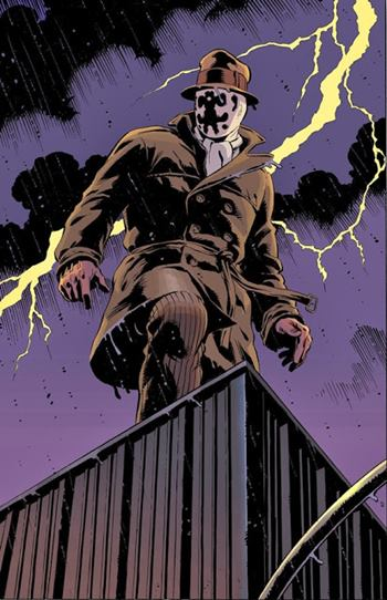 En Watchmen, Rorschach es el protagonista