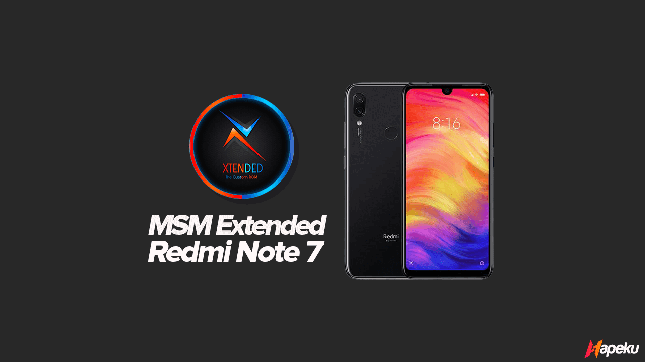 ROM MSM Extended XIaomi Redmi Note 7 ( LAVENDER )