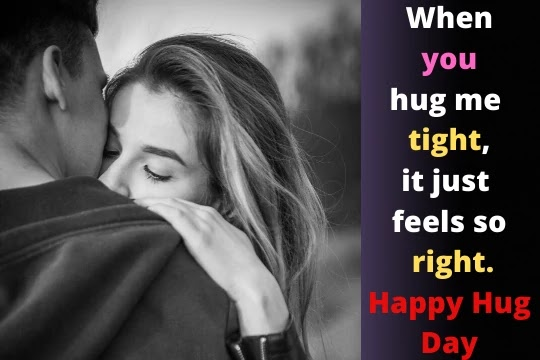 Hug Day Quotes-Messages-Wishes-Images For Lover 2020