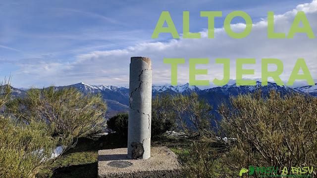 Vértice geodésico del Alto la Tejera, Aller