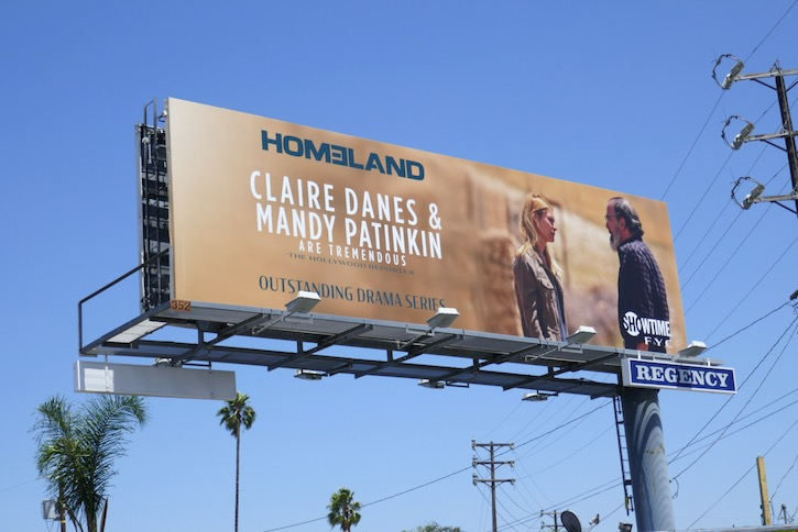 Homeland 2020 Emmy FYC billboard