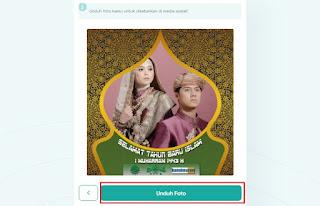 cara membuat twibbon tahun baru islam dengan twibbonizecom 4- kanalmu