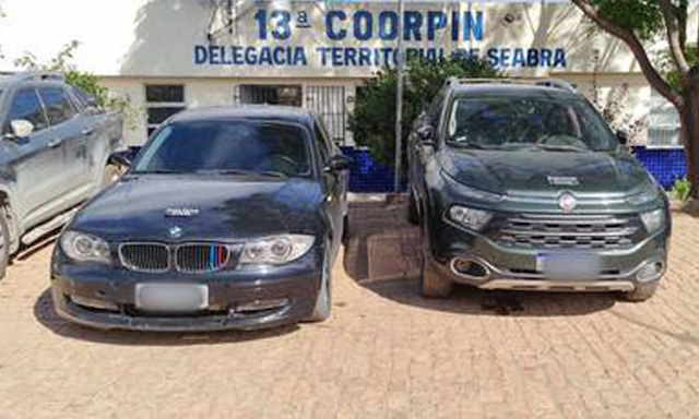 Polícia Civil recupera veículos roubados e prende receptador na Chapada Diamantina
