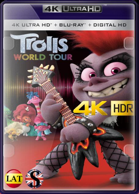 Trolls 2 Gira Mundial (2020) 4K UHD HDR LATINO/INGLES