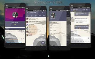 BBM Mod Mi Cloud v3.3.0.16 Apk Terbaru
