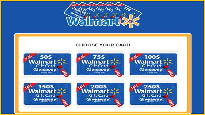 Free Walmart Gift Card Codes Generator 2021