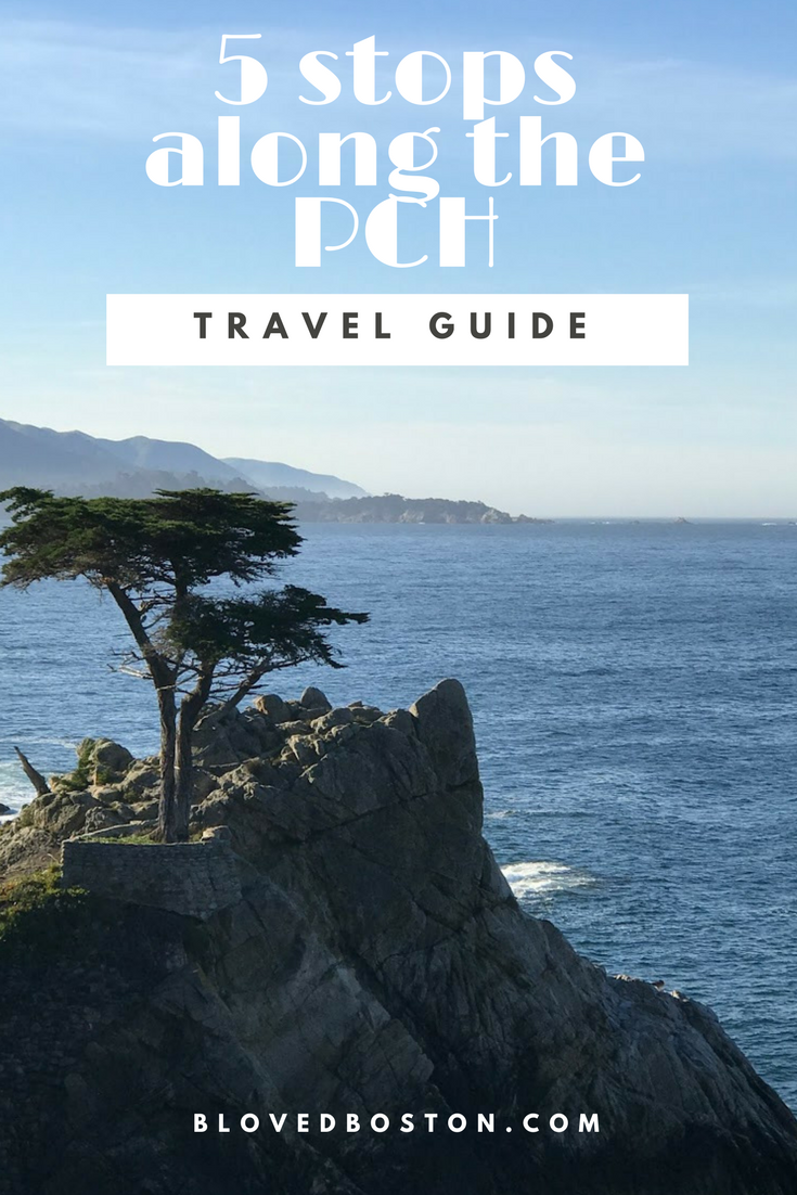 What to do on the PCH, stops to take on a road trip, california travel