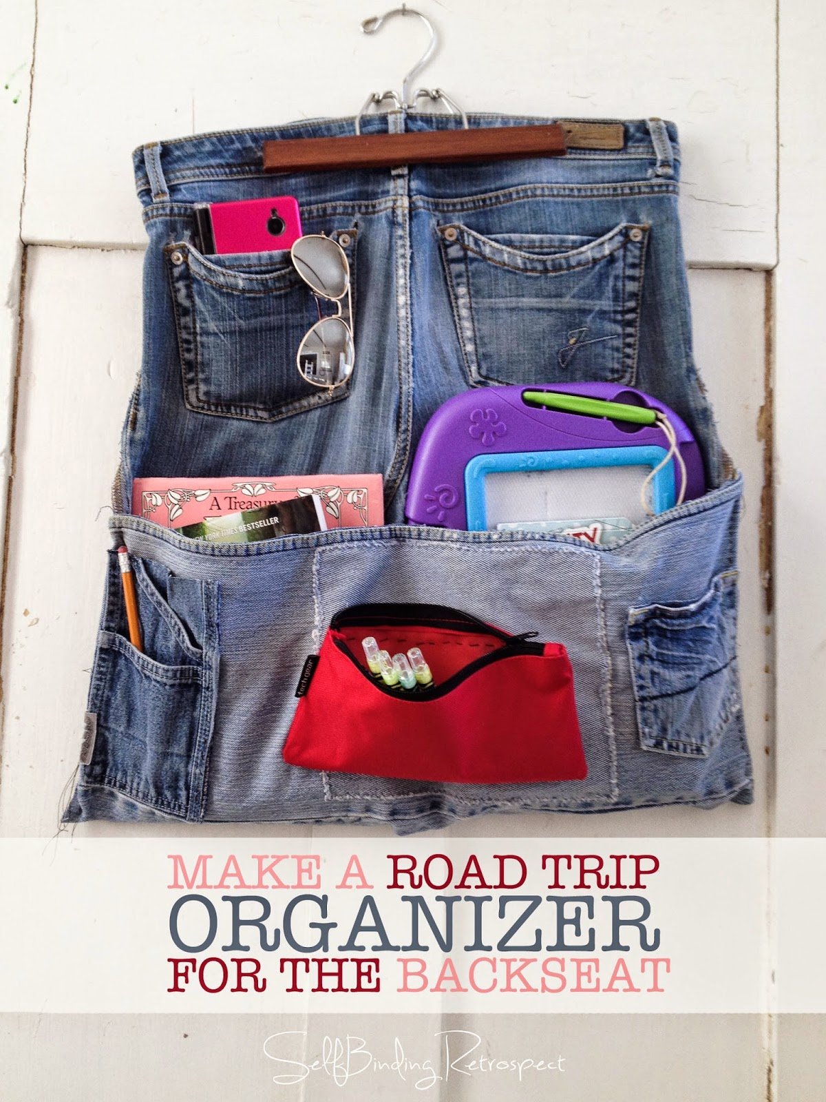find or make a great organizer for your backseat