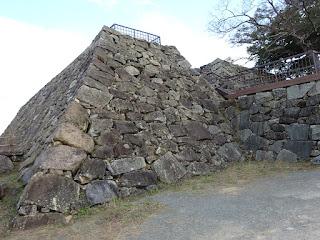 福岡城の石垣