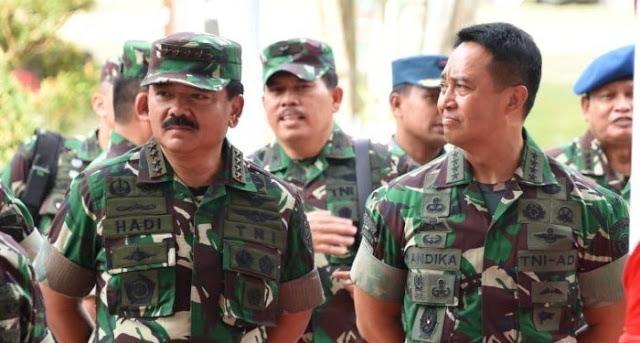 Akan Gaduh Jika Andika Perkasa Jadi Wakil Panglima TNI