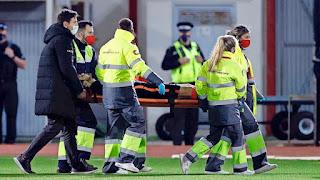 الهولندي دالي بليند يتعرض لإصابة خطيرة في مباراة المنتخب الهولندي