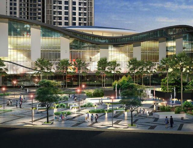 Trung tâm thương mại và quảng trường ánh sáng dự án Goldmark