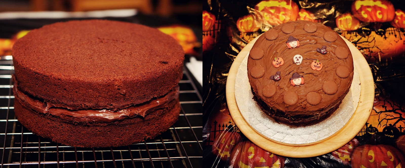 Chocolate Sponge Cake Recipe Jamie Oliver: Halloween Chocolate Party Cake