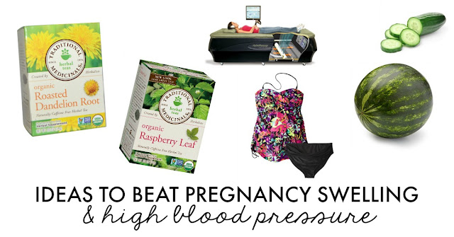 Ideas to Beat Pregnancy Swelling & High Blood Pressure