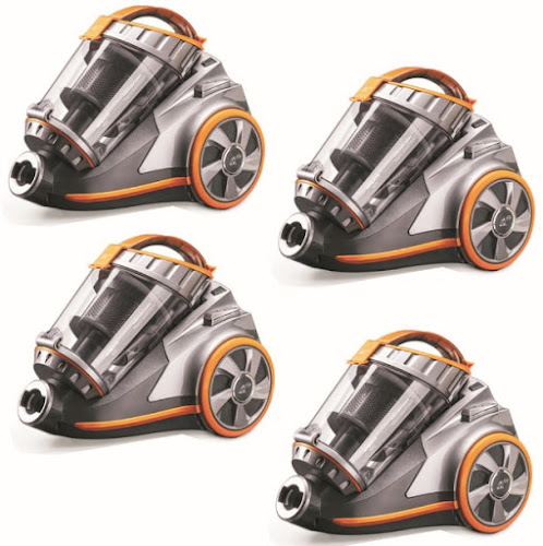 Puppyoo Vacuum Cleaner - WP9005B: Powerful Multifunctional Home Cleaning Machine with Canister