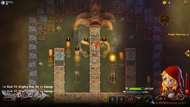 Dragon FIn Soup Gameplay Screenshot 2