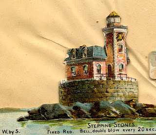 """Stepping Stones"" Lighthouse"
