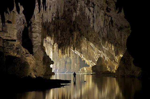 Gambar, Foto,Image Goa Tham Lod di Thailand